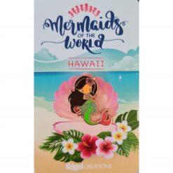 Mermaid of Hawaii on backing card