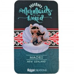 Maori Mermaid of New Zealand with backing card