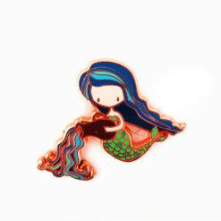 Aquarius Mermaid Enamel Pin