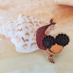 Aries Mermaid Pin