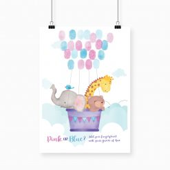 Baby Shower Fingerprint Guestbook
