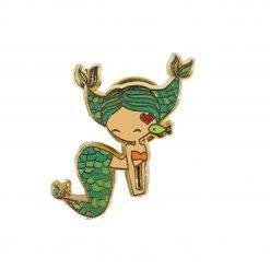 Pisces Zodiac Mermaid Enamel Pin
