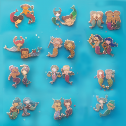 Zodiac Mini Mermies - Complete Set of 24A