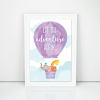 et the adventure begin mockup - white frame