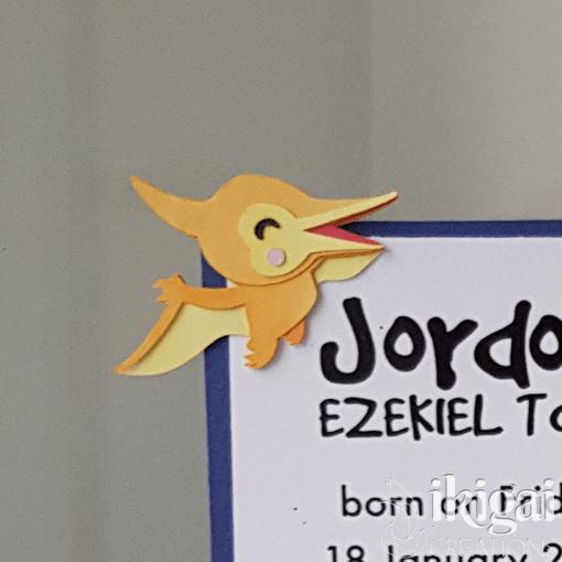 paper dino - birth announcement mockup - jordan tong - zoom in dino1