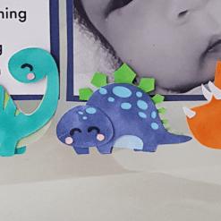 paper dino - birth announcement mockup - jordan tong - zoom in dino4