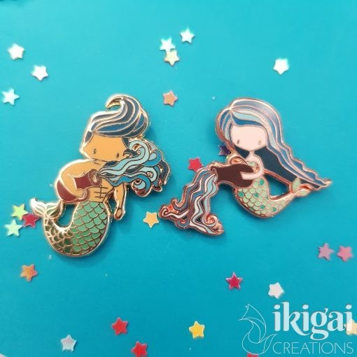 pin merfolk - aquarius