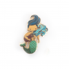 Aquarius Zodiac Merman Mini Enamel Pin