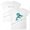 Aquarius Zodiac Mermaid Tshirt Front & Back