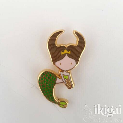 Taurus Mermaid Pin