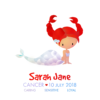 Personalised Cancer Mermaids Print