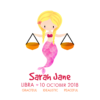 Personalised Libra Mermaids Print